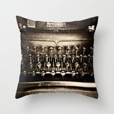 Remington Noiseless Throw Pillow