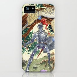 King Pellinore and the Questing Beast iPhone Case