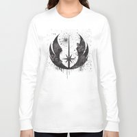 jedi Long Sleeve T-shirts featuring Jedi mark by Ainy A.
