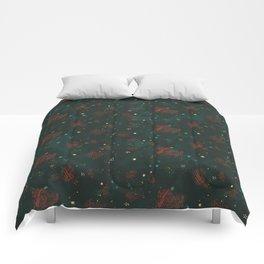 Cosmic Pattern Comforters