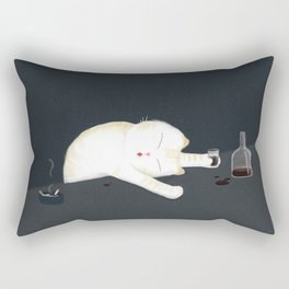We have rights to destroy ourselves? / Illustration Rectangular Pillow