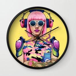 Military Bubblegum Wall Clock