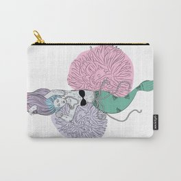 Tattooed Mermaid Carry-All Pouch