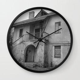 Lost on a half Wall Clock