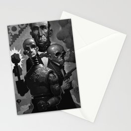 The Amazing Screw-On Head Stationery Cards