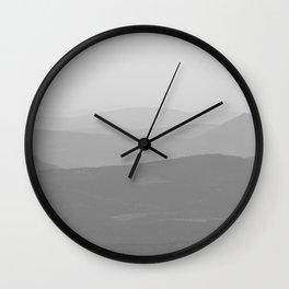Les Monts Chic-Chocs Wall Clock