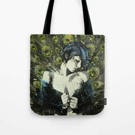 Black Pea Tote Bag