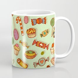 candy and pastries Coffee Mug