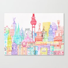Berlin Towers Canvas Print