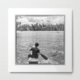 The Philippines, Coastline of Mindanao Island Metal Print