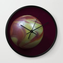 Marble Planet Wall Clock