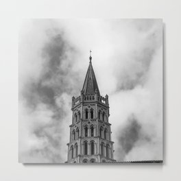 Basilica of Saint-Sernin Metal Print
