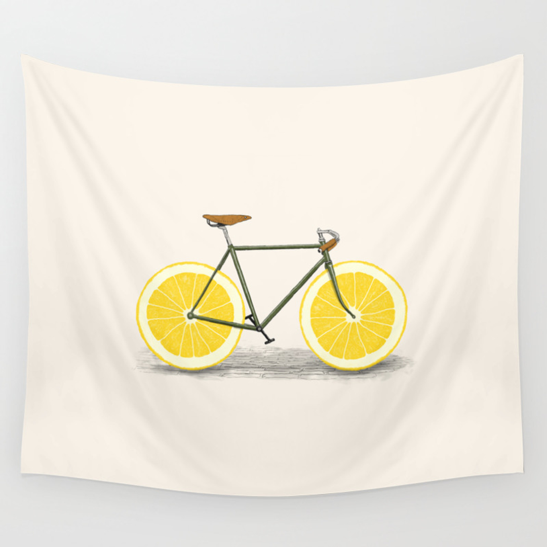 Art, Bicycle, Painting and Wheel Wall Tapestries | Society6