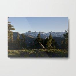 Pyramid Peak, Desolation Wilderness Metal Print
