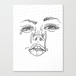Sad? Canvas Print