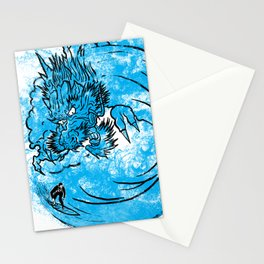 Dragon Waves Stationery Cards