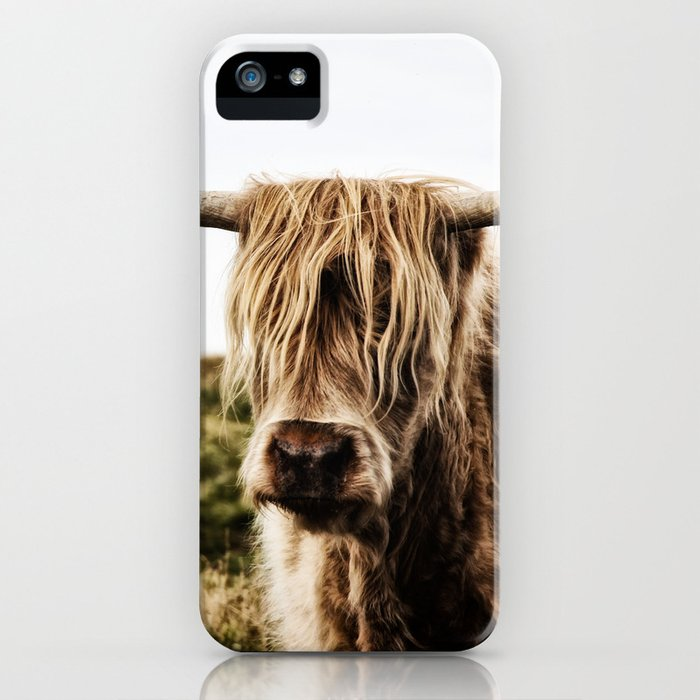 Highland Cow - color iPhone Case