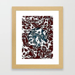 Wax & Birds I Framed Art Print
