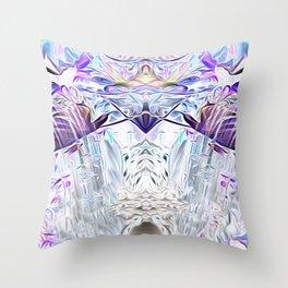 Diamond Light Consciousness Throw Pillow