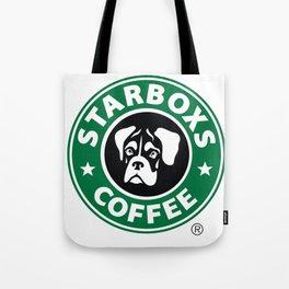Starboxs Coffee - Boxer Coffee Logo Tote Bag