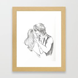 Missed You So Bad When I Was Gone Framed Art Print