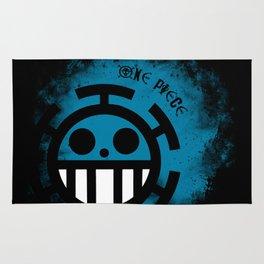 Blue Trafalgar - One Piece Anime Rug