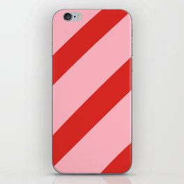 Reddy Stripes iPhone Skin