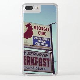 Georgia Chic Clear iPhone Case