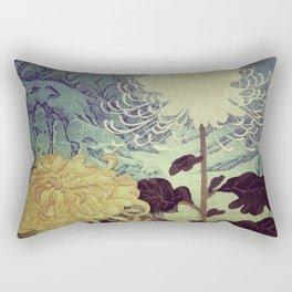 Midnight Climbing towards Kankoi Rectangular Pillow