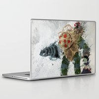 bubbles Laptop & iPad Skins featuring Bubbles by Melissa Smith