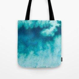 Blue Corruption Tote Bag