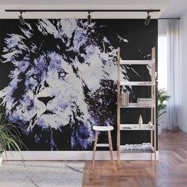 Frozen lion Wall Mural