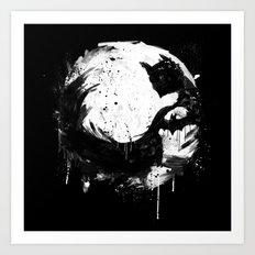 Dark Moon Art Print