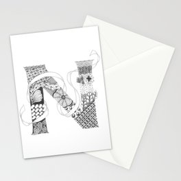 "Zenletter ""N"" Stationery Cards"