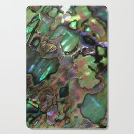 Oil Slick Abalone Mother Of Pearl Cutting Board