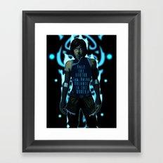 Only the Avatar Framed Art Print