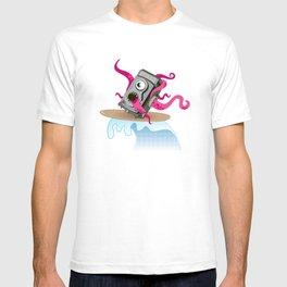 Monster Camera Surfing T-shirt