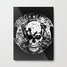Metal Gear Solid V: A house divided Metal Print