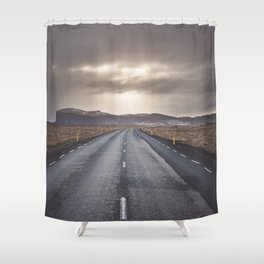 Route 1 - Landscape and Nature Photography Shower Curtain