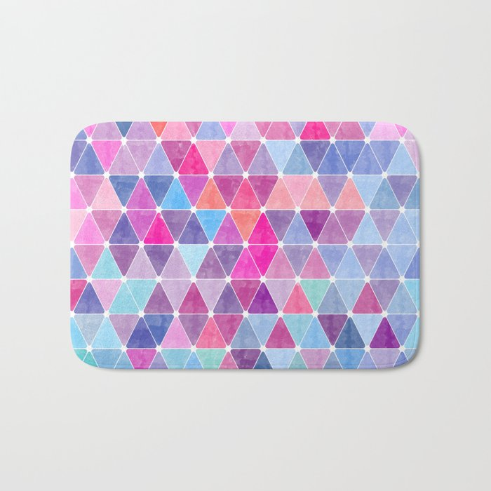 Lovely geometric Pattern Bath Mat