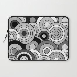 African Style No20, Black and White Laptop Sleeve