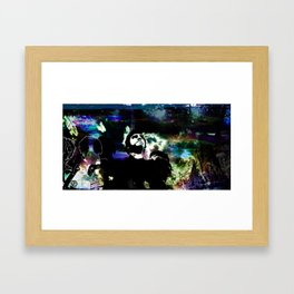 Out of the clouds Framed Art Print