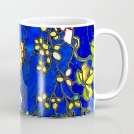 "John La Farge ""Butterflies and Foliage"" window. 1889 (2.) Coffee Mug"