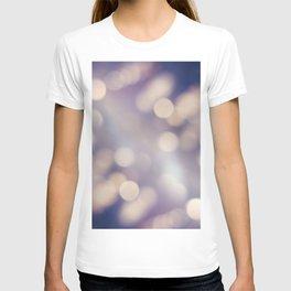 Blue Bokeh II T-shirt