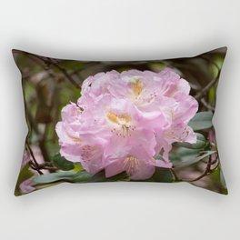 Pink Azalea in the Sunshine Rectangular Pillow