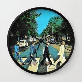 Abbey Pugs Wall Clock