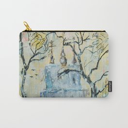 winter cityscape Carry-All Pouch