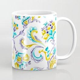 Hand-Painted Scroll Coffee Mug