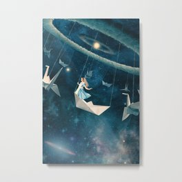 My Favourite Swing Ride Metal Print