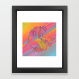 NYC (everyday 09.29.15) Framed Art Print